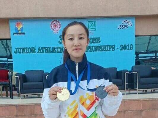 Arunachal girl bags gold in East Zone Jr Athletics Championships