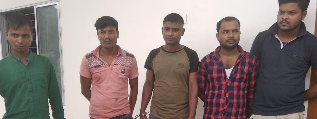 The truck drivers who were arrested by Kokrajhar police
