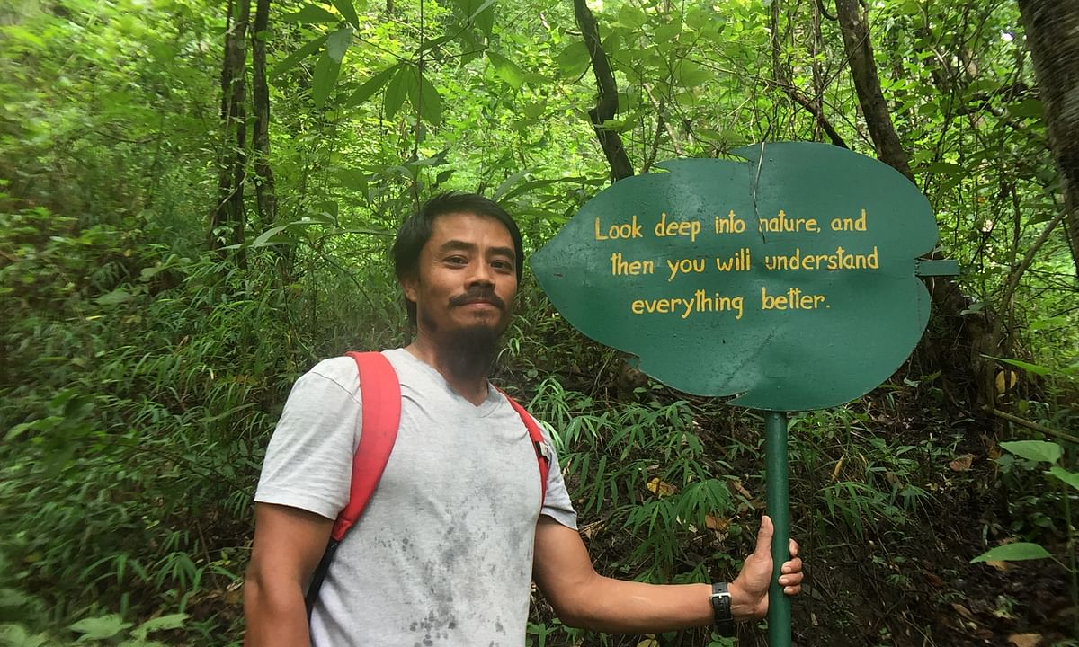 Manipur man toiled for 17 years to bring dying forest back to life