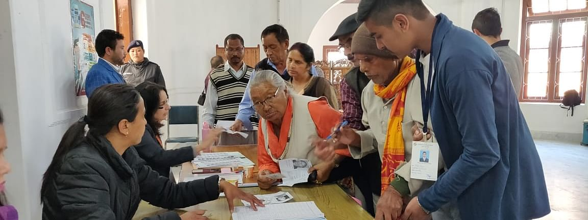 Sikkim assembly elections were held in April this year