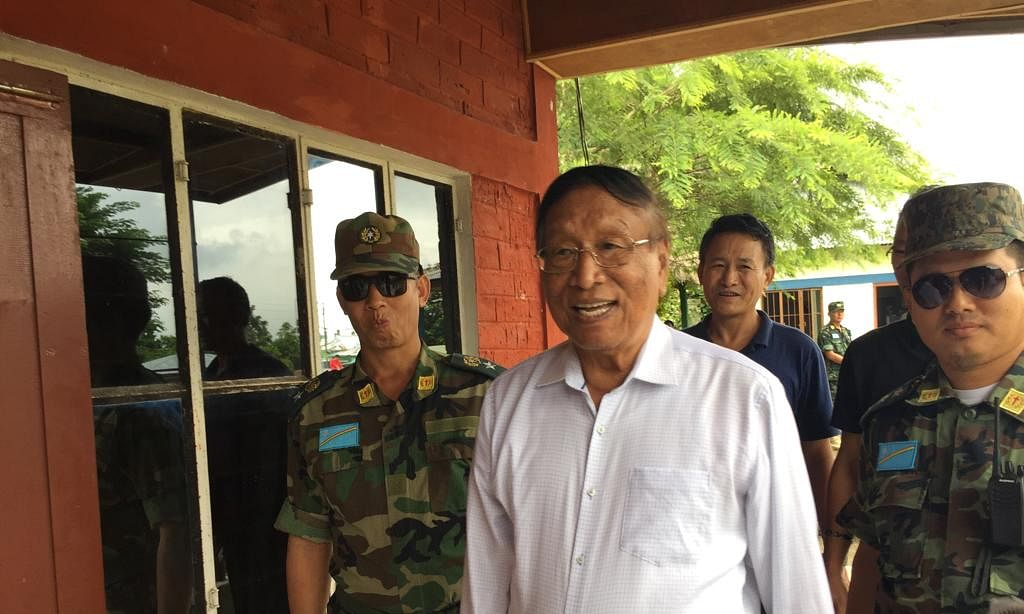 NSCN-IM general secretary and chief negotiator Th Muivah