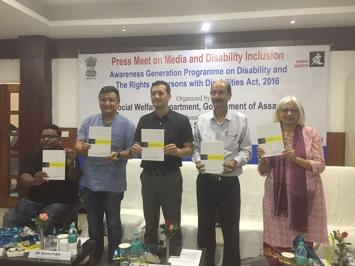'Sensitisation on rights of persons with disabilities 2-way road'