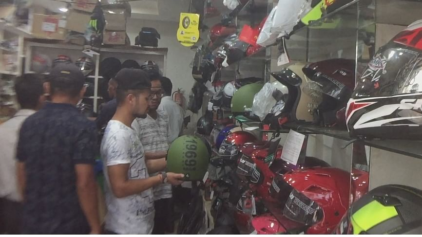 Manipur: New Motor Vehicles Act bumps up helmet sales in Imphal