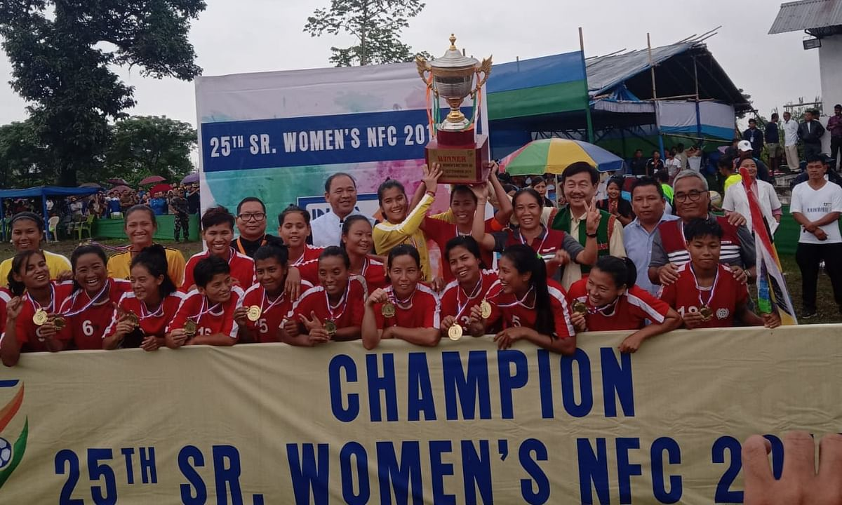 Manipur bags 25th Senior Women's National Football Championship