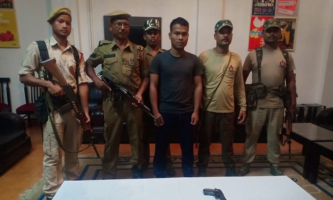Exodus of rebels from Myanmar on: 2 ULFA-I men held in Assam
