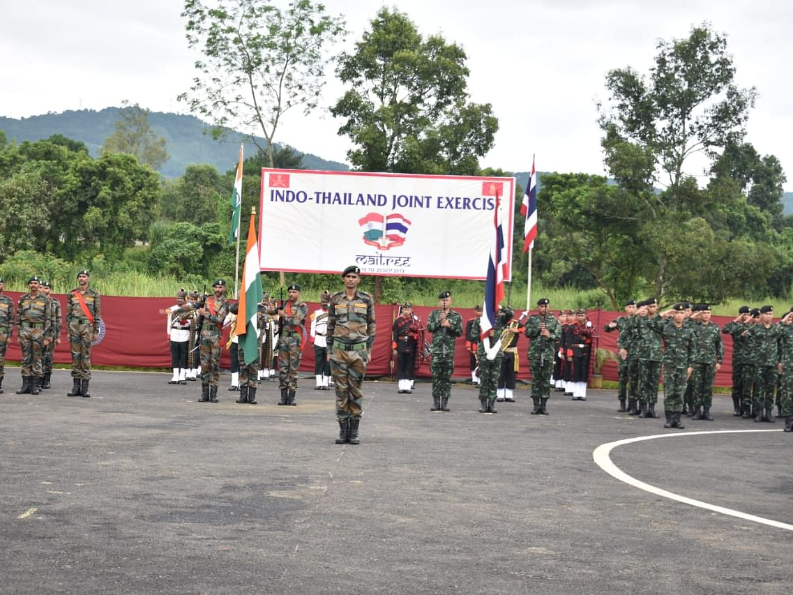 India-Thailand joint military exercise underway in Meghalaya
