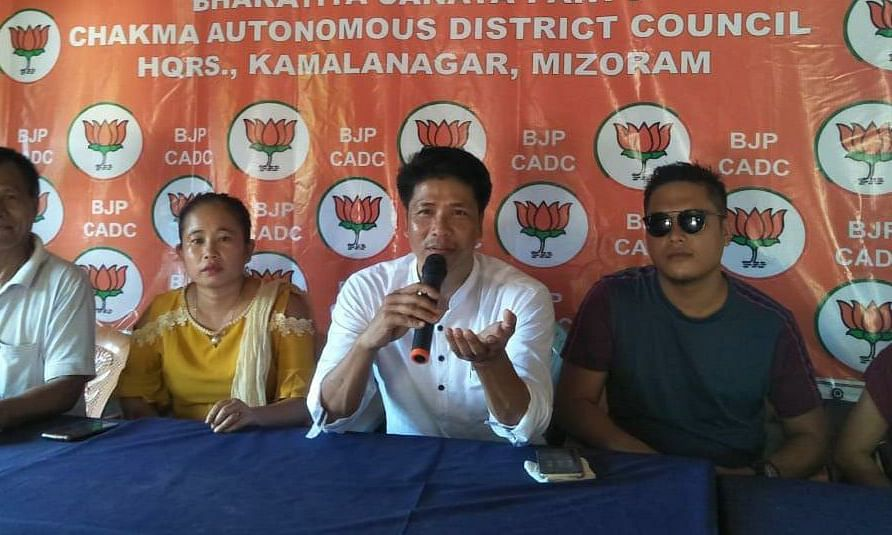Mizoram govt defending corrupt practices committed by MNF: BJP
