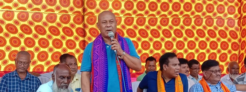 Bodoland Territorial Council chief and Bodoland People's Front chief Hagrama Mohilary