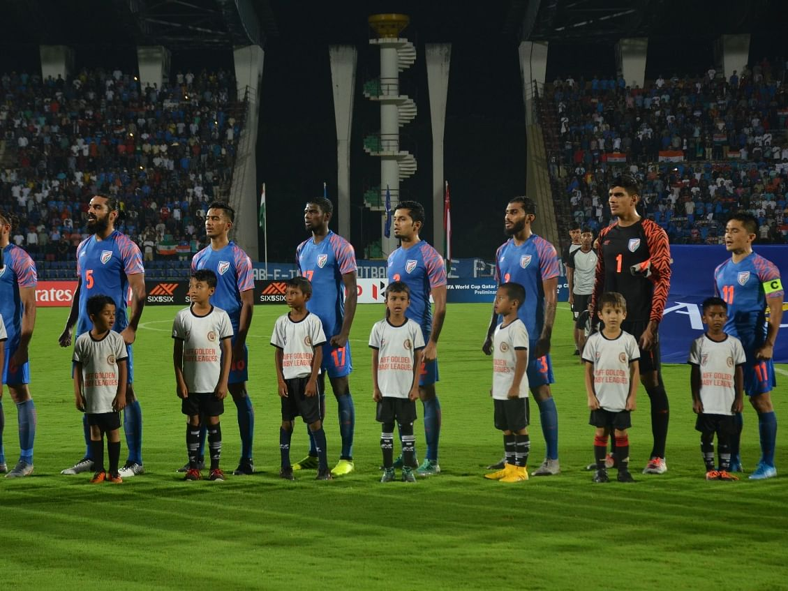 FIFA qualifier in Assam: Who were the child mascots with players?