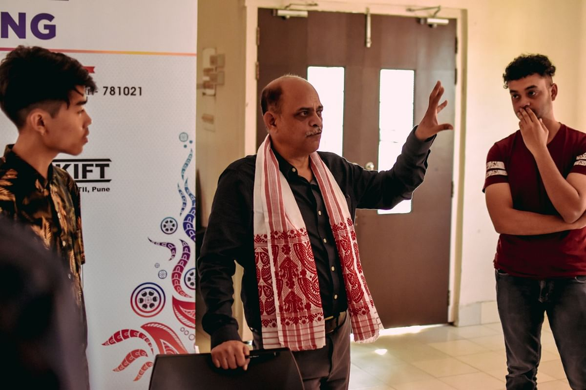 Course director Ajmal Jami interacting with the participants
