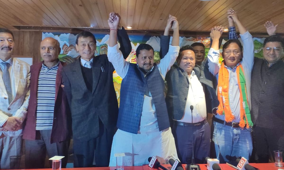 Sikkim: Ruling SKM ties up with BJP for Oct 21 Assembly by-polls