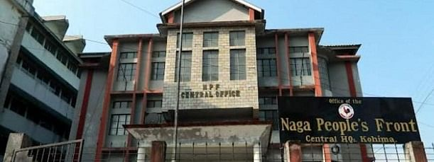 Naga People's Front central headquarters in Kohima