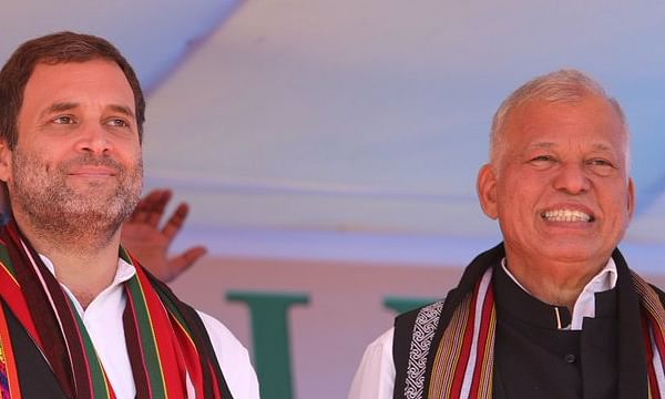 Cong high command reinstates Luizinho Falerio as Tripura in-charge