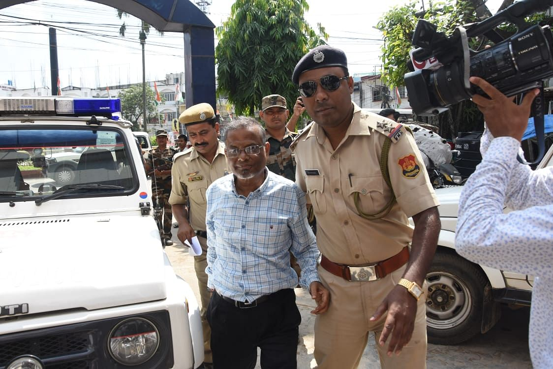Former chief engineer Sunil Bhowmik was arrested on Monday morning