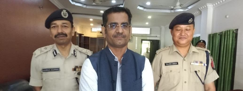 Assam ADGP Mukesh Agrawal has appealed all sections of society to cooperate with the police to maintain peace in Kokrajhar district and its adjoining areas