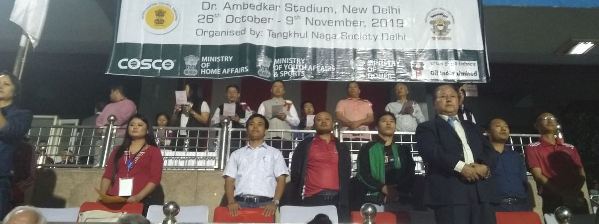 13th NEC Northeast Tamchon Tournament kicked off to a colourful start in New Delhi on Saturday evening