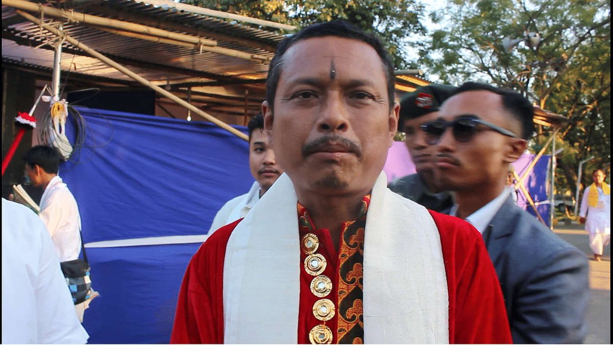 The Titular king of Manipur, Leishemba Sanajaoba, expressed shocked on the announcement made by his own associates in London
