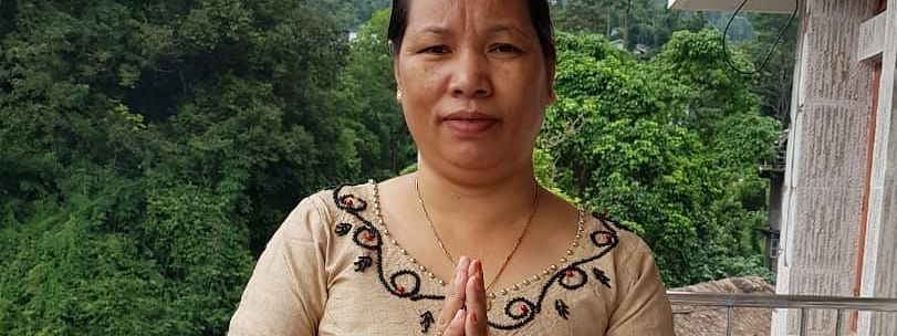 Chakat Aboh, wife of slain MLA Tirong Aboh, will contest the forthcoming by-poll to Khonsa West constituency on Oct 21 as an independent candidate
