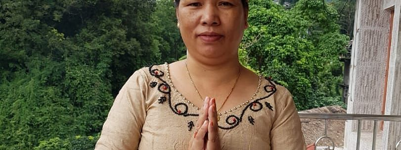 Chakat Aboh, wife of slain MLA Tirong Aboh, contested the by-poll to Khonsa West constituency on Oct 21 as an independent candidate