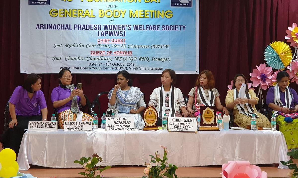 'Arunachal needs protection officers to check domestic violence'