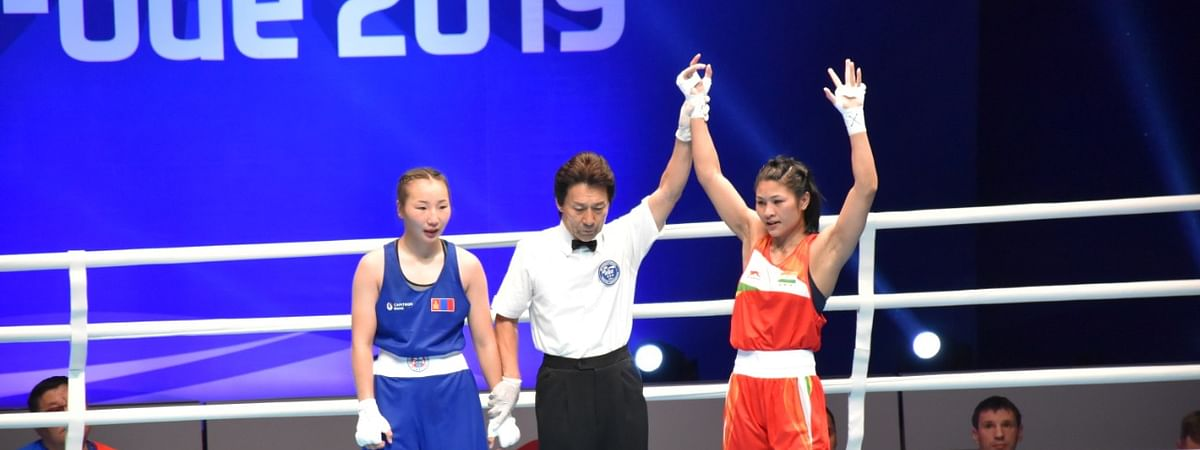 Assam's Jamuna Boro secured a unanimous 5-0 win over Mongolia's Erdenedalai Michidmaa at Women's World Boxing Championships in Russia on Friday