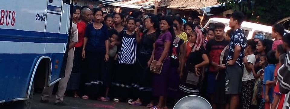 On several occasions, Bru families residing at six relief camps in Tripura staged rallies to protest against the ongoing repatriation