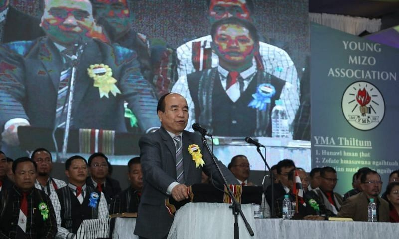 Mizoram: CM Zoramthanga takes a dig at Cong over party strength