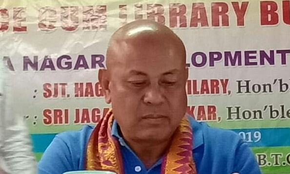 BPF to continue alliance with BJP & AGP: Hagrama Mohilary