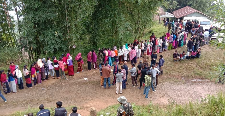 Khonsa West in Arunachal Pradesh has a total of 10,185 electorates, including 4,959 male and 5,226 female voters