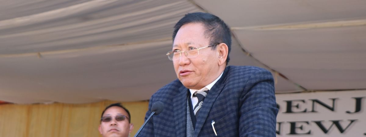 Nagaland Leader of Opposition TR Zeliang
