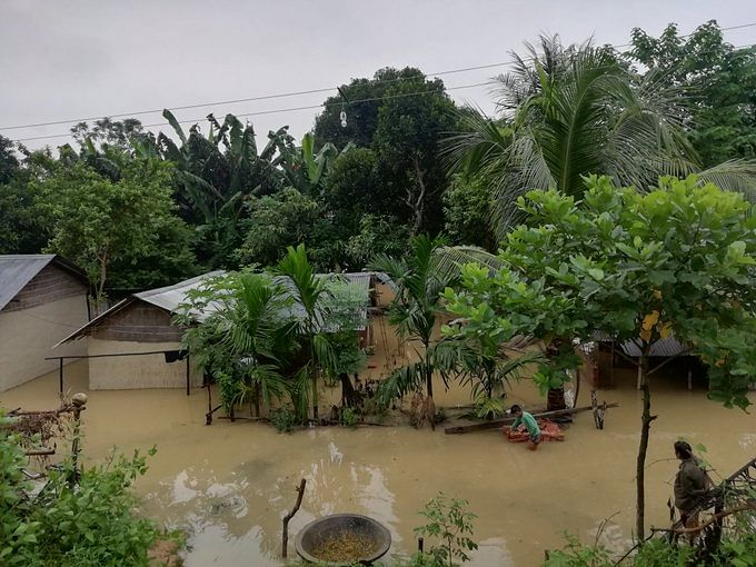 3 dead, over 3 lakh affected in 1st wave of flood in Assam