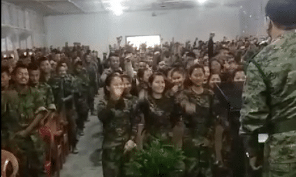 WATCH: NSCN-U leader urges cadets to stand ground as D-Day nears