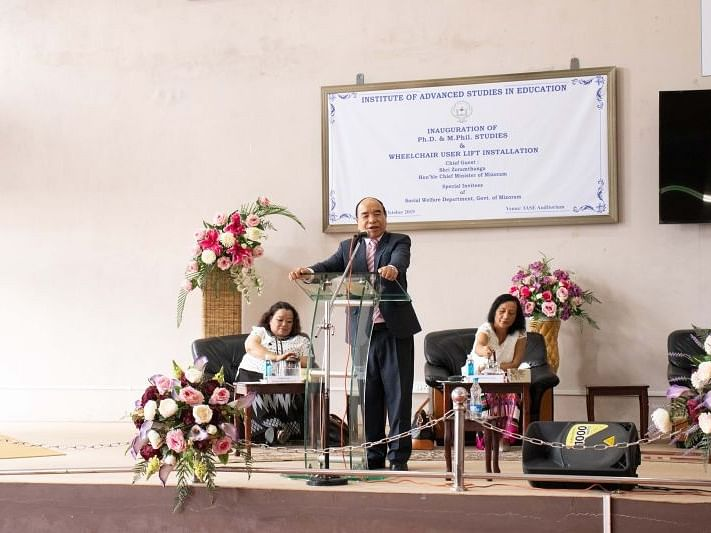 Mizoram: CM Zoramthanga inaugurates Ph.D & M.Phil studies at IASE