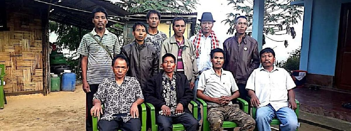 Members of Pheta Range Razaupiyu Konyak Region of NSCN-IM