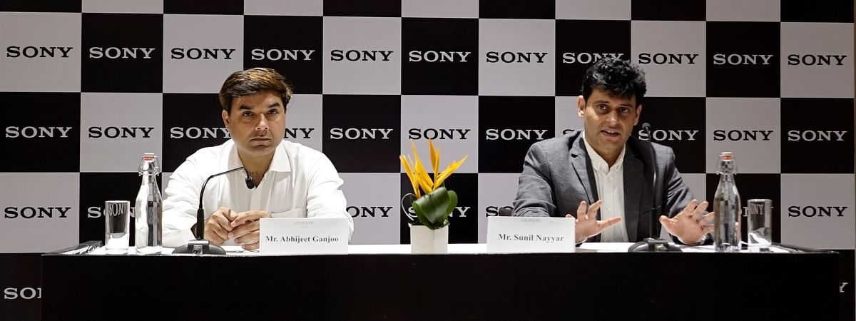 (Left to right) Abhijeet Ganjoo, branch Manager, Northeast, Sony India; and Sunil Nayyar, managing director, Sony India