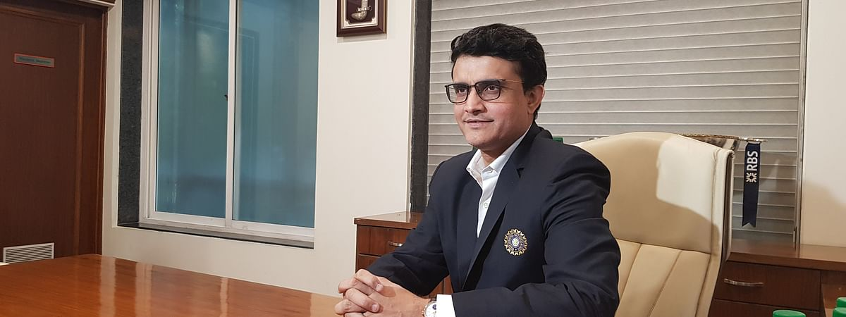 Sourav Ganguly officially assumed office as the 39th president of the BCCI in Mumbai on Wednesday