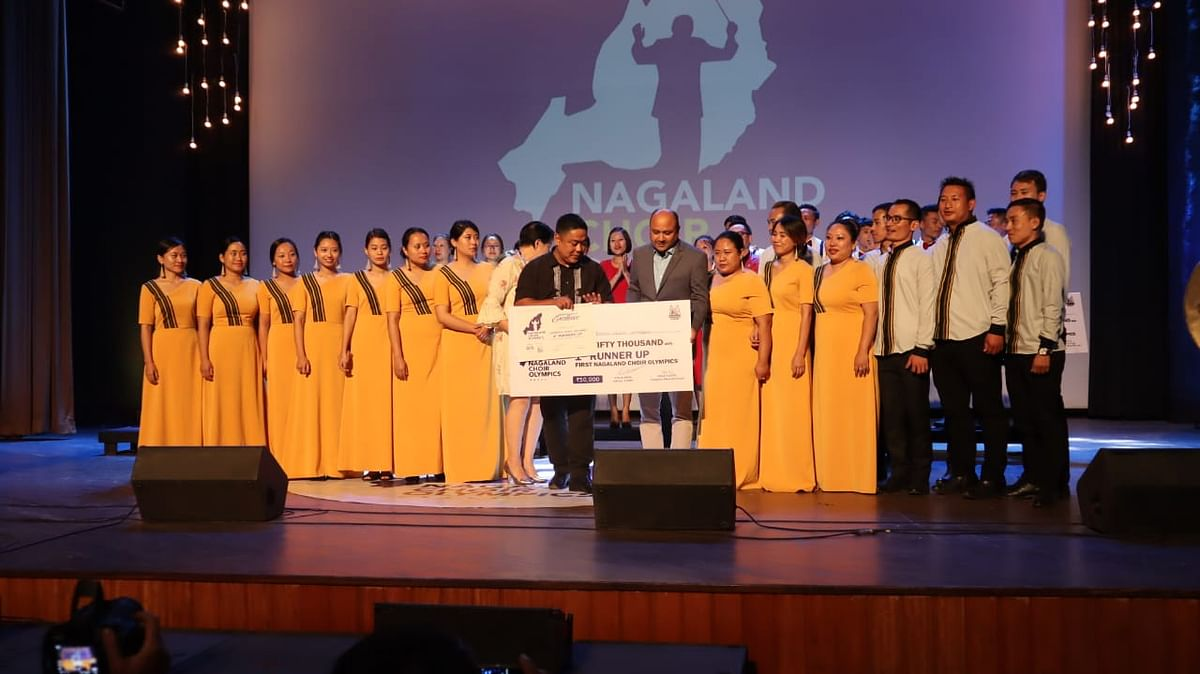 'Canticles' from Nagaland's Phek district became the second runner up of the competition and was awarded with Rs 25,000