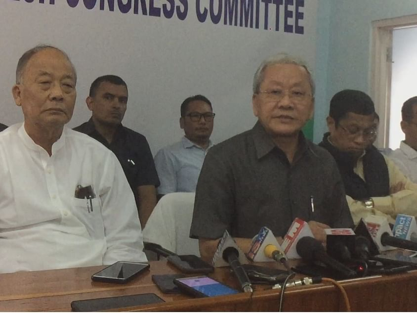 Manipur: Cong hits back at BJP, denies MLAs switching parties