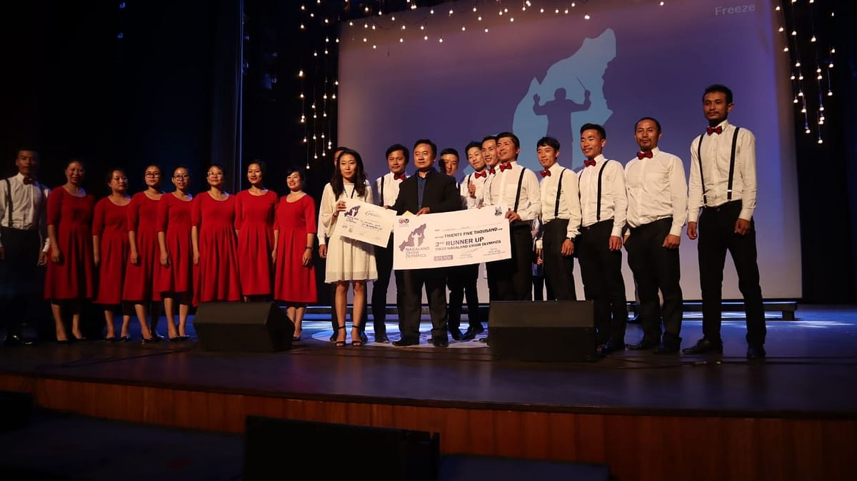 'Cantamus Choir' representing Dimapur  was adjudged the first runner up
