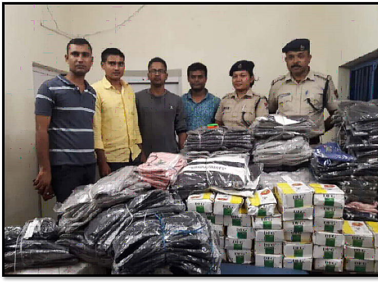 NF Railway recovers contraband & stolen items worth Rs 12.72 lakh
