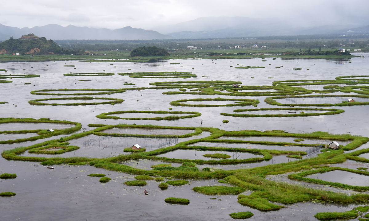 Famous for its floating islands (<i>phumdis</i>) and picturesque landscape, the condition of the Loktak Lake in Manipur is deteriorating