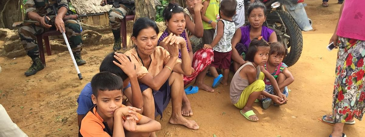 Altogether 4,447 Bru families are lodged in six relief camps of North Tripura