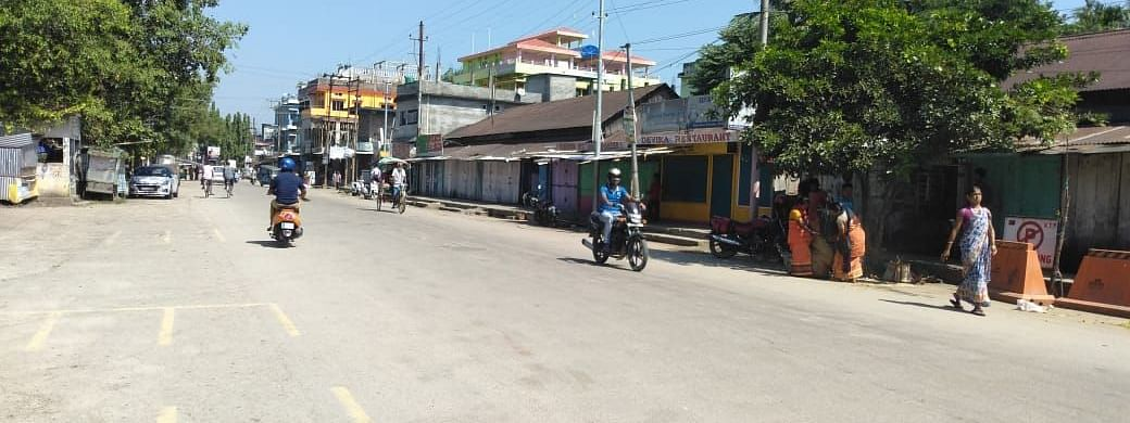 12-hour bandh in BTAD has affected normal life