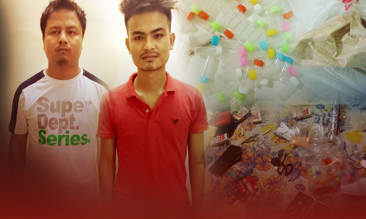 Assam: 2 arrested with 58.9 gm heroin in Kokrajhar