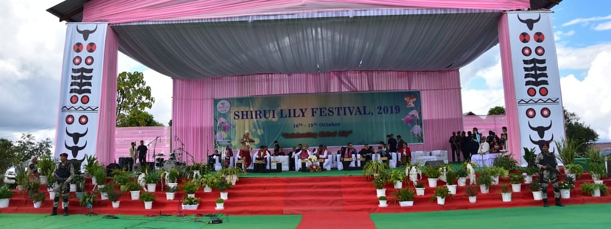 The inaugural event of the 3rd edition of Shirui Lily Festival was held at Shirui village local ground in Manipur's Ukhrul district on Wednesday