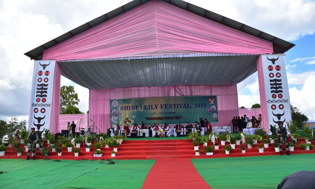 Manipur: Shirui Lily Festival 2019 gets underway in Ukhrul