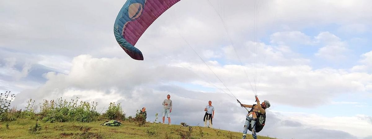 The Shirui Lily festival will introduce paragliding, possibly the first-of-its-kind adventure sport facility in the state