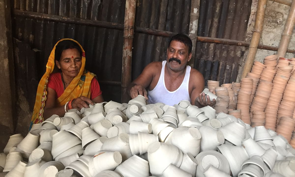With single-use plastic ban, these Assam potters see a ray of hope