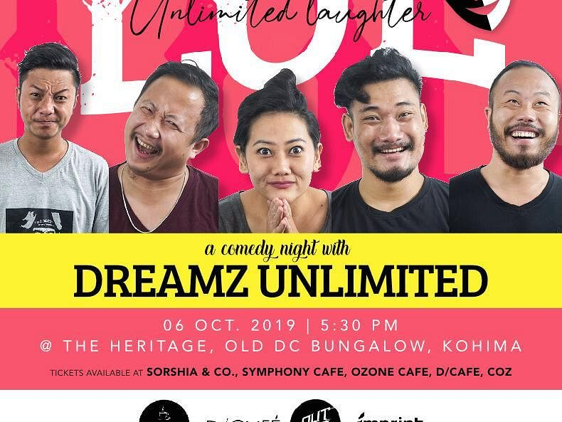 Naga YouTuber Dreamz Unlimited to start comedy nights from Oct 6