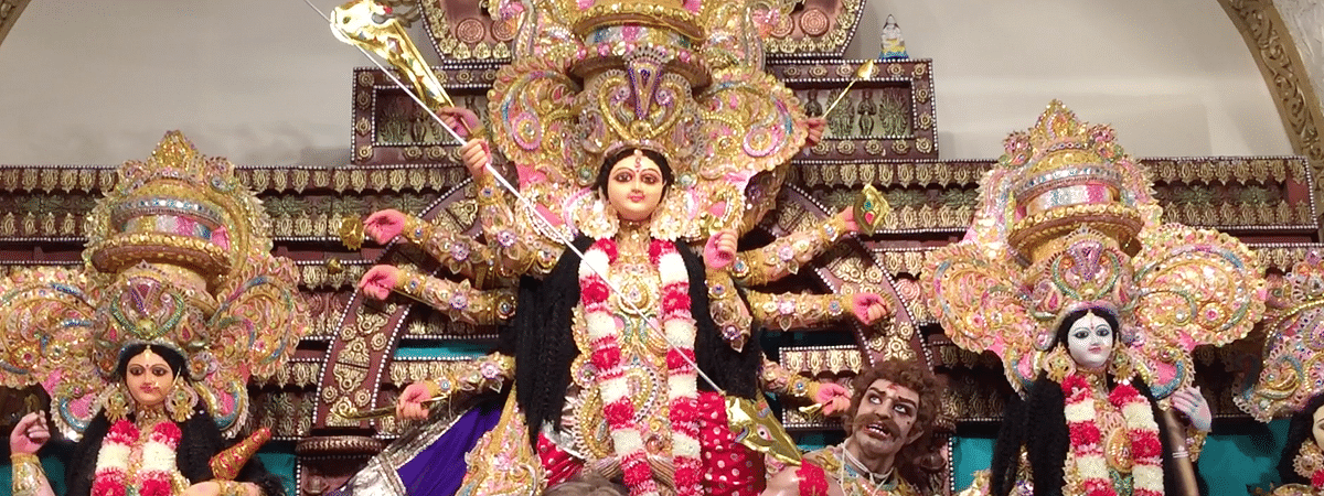 With some of the most elaborate and innovative themes, puja pandals In Guwahati are where you should be headed this festive season